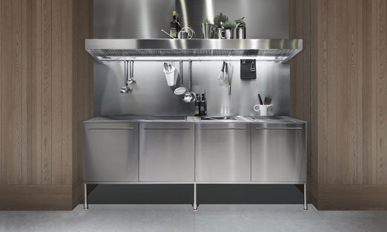 Artusi professional work unit by Arclinea | Fitted kitchens