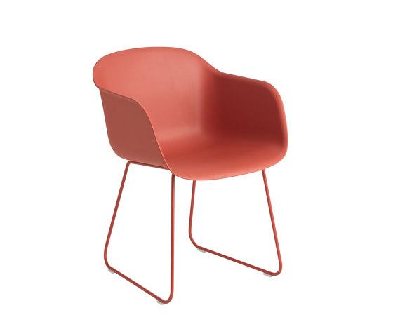 Fiber Armchair | Sled Base by Muuto | Chairs