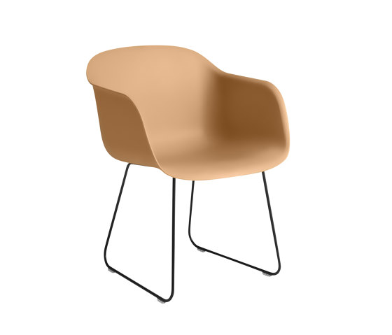 Fiber Armchair | Sled Base by Muuto | Chairs