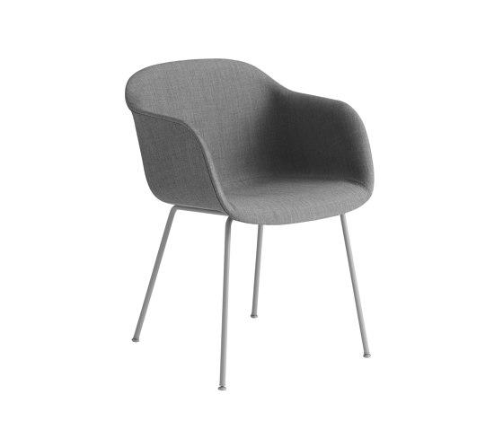 Fiber Armchair   Tube Base   Textile by Muuto   Chairs