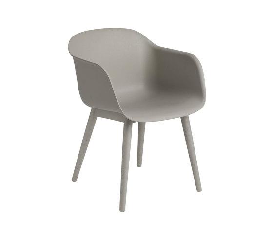 Fiber Armchair | Wood Base by Muuto | Chairs