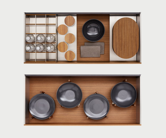 Box Globe System by Arclinea | Kitchen organization