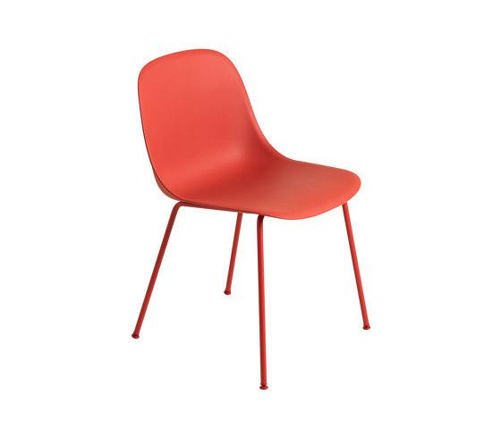 Fiber Side Chair   Tube Base de Muuto   Sillas