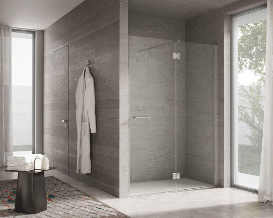 Project by Ideagroup | Shower screens