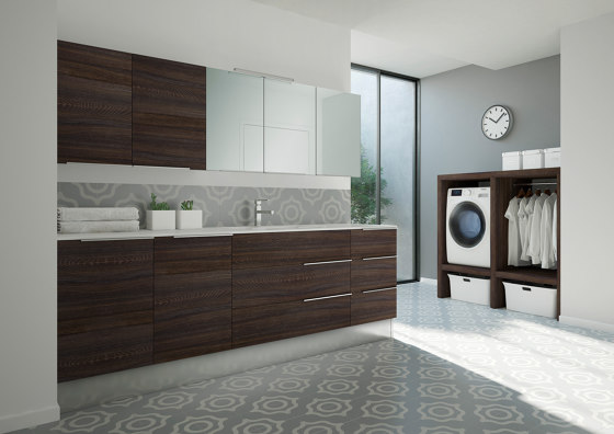 Spazio Time 8 by Ideagroup | Wall cabinets