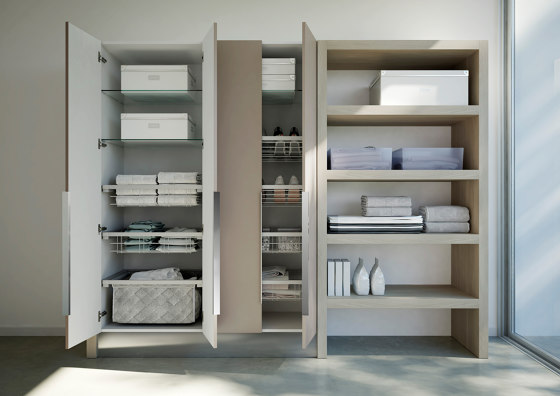 Spazio Time 4 by Ideagroup | Mirror cabinets