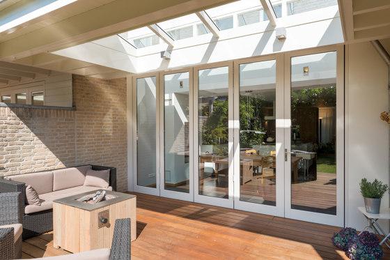 Bi-Folding Doors | Woodline de Solarlux | Sistemas de ventanas
