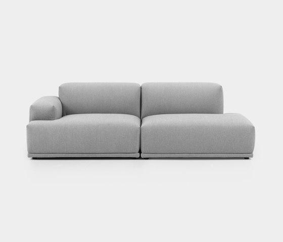 Connect Sofa | 2-seater open de Muuto | Sofás