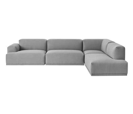 Connect Sofa | 3-seater corner de Muuto | Sofás