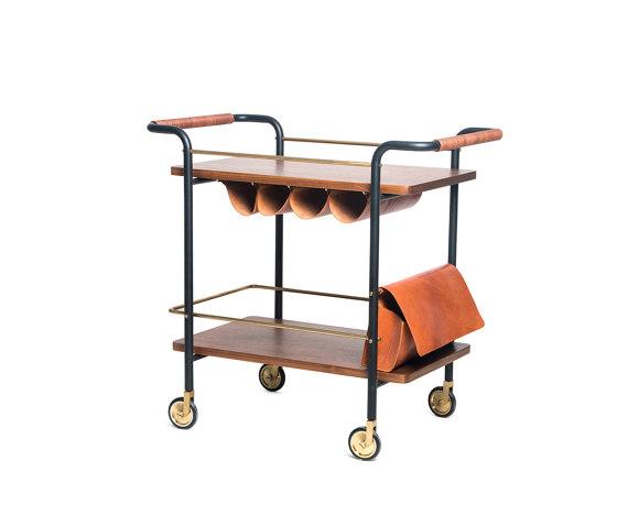 Valet Bar Cart by Stellar Works | Trolleys