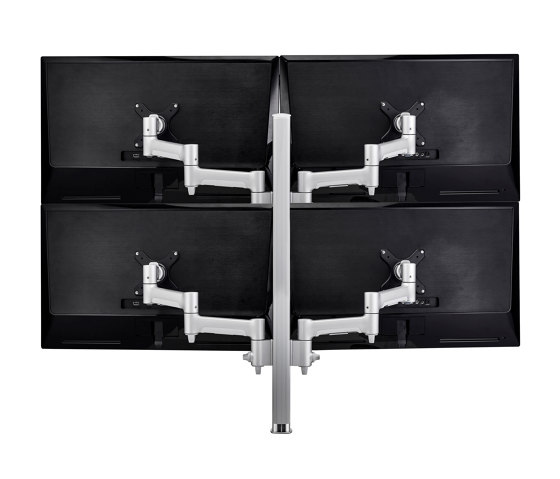 Modular | 4 x 460mm Arms on 750mm Post Desk Monitor Mount AWMS-4-4675 by Atdec | Table equipment
