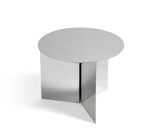 Slit Table Round by HAY | Side tables
