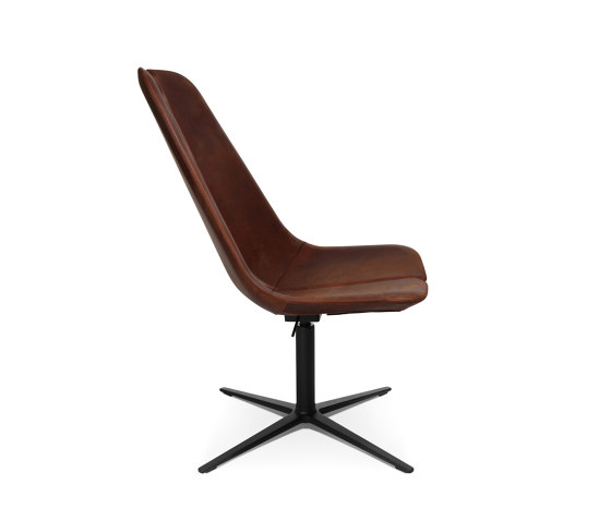 W-Lounge Chair 2 Leather by Wagner | Armchairs
