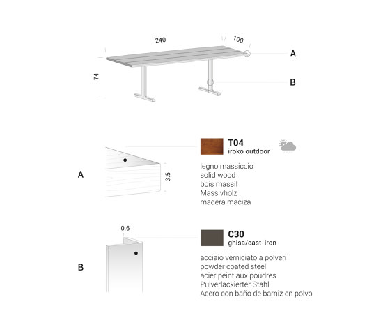 Hammer by Extendo | Dining tables