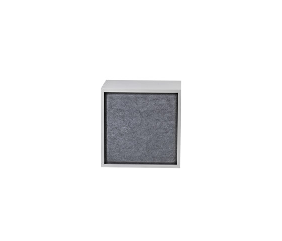 Stacked Storage System Acoustic Panel | Medium by Muuto | Shelving
