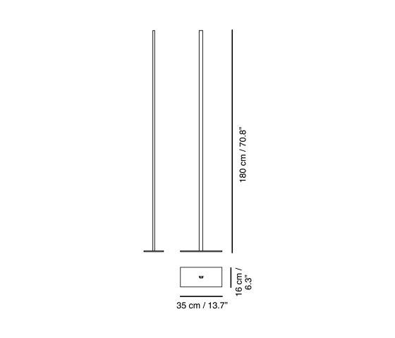 Lineal | Floor lamp de Carpyen | Luminaires sur pied