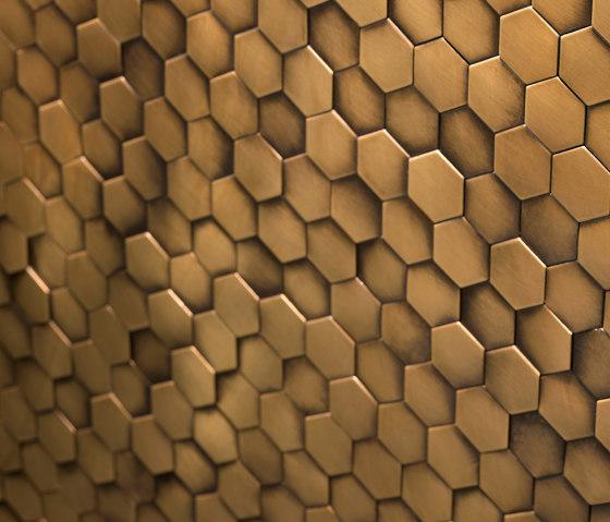 Copycat de De Castelli | Mosaicos metálicos