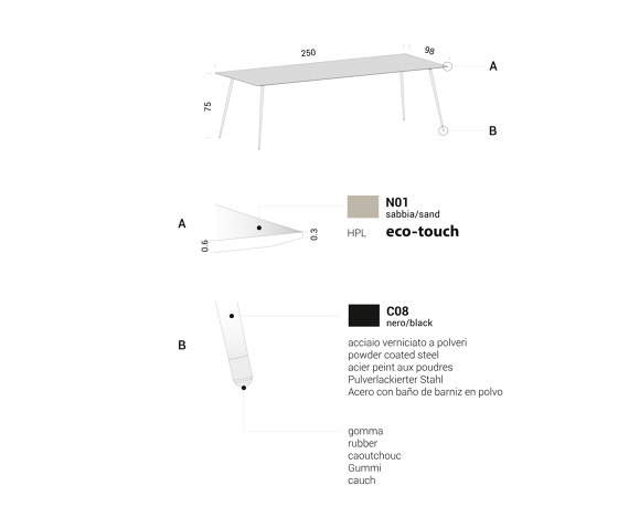 Spillo by Extendo | Dining tables