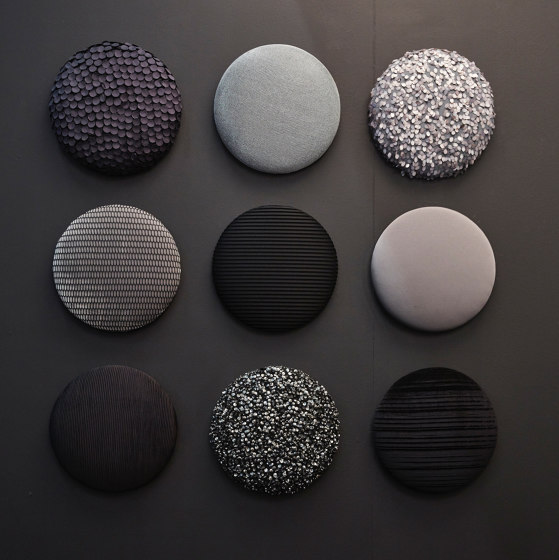 Woolbubbles® Dot times nine small by Wobedo Design | Sound absorbing objects