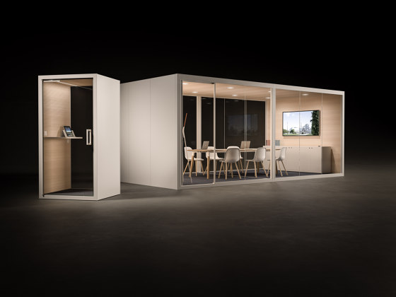 Acoustic Room by Fantoni   Soundproofing room-in-room systems