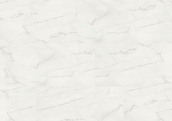 wineo PURline® Tiles | White Marble by Mats Inc. | Rubber flooring