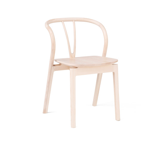 Flow | Dining Chair de L.Ercolani | Chaises