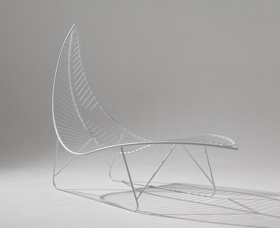 Leaf Chair on Base stand by Studio Stirling   Sun loungers