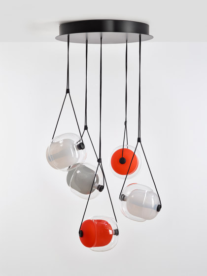 Capsula Metal Conopy PC966 by Brokis   Suspended lights