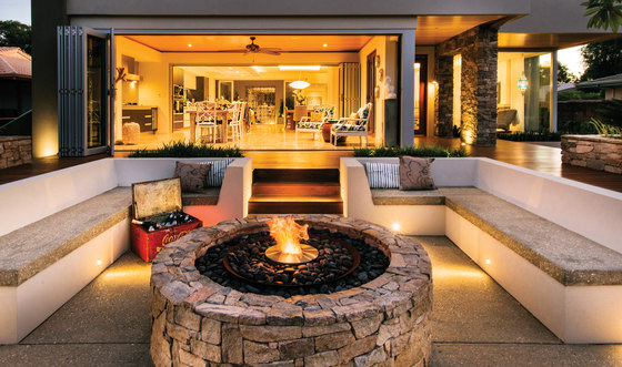 AB8 by EcoSmart Fire | Open fireplaces