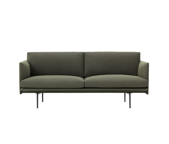 Outline Sofa | 2-seater de Muuto | Sofás