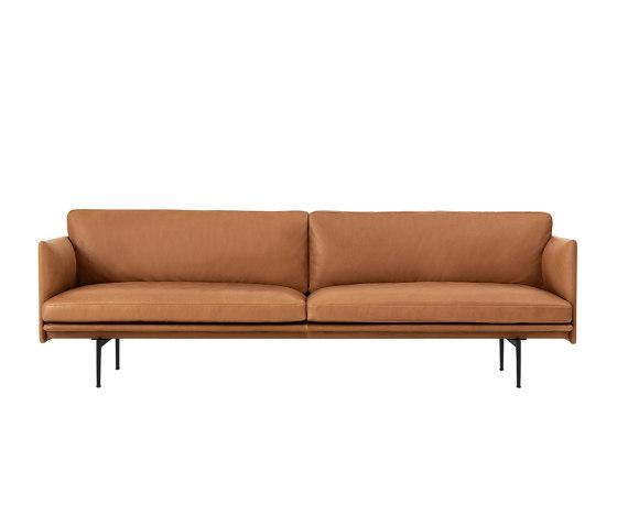 Outline Sofa | 3-seater de Muuto | Sofás