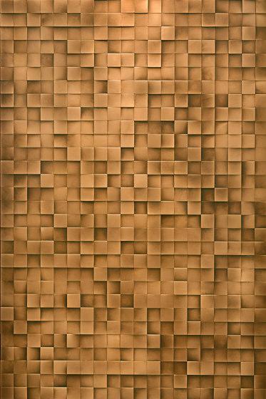 Square 50 by De Castelli | Metal mosaics