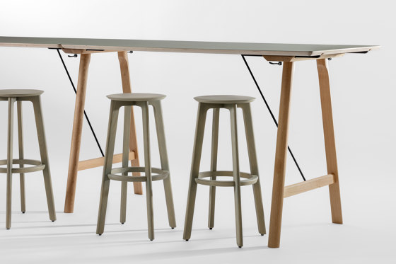 Rail High by Zeitraum   Standing tables