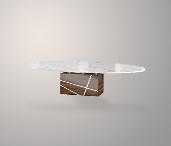 Jack Dining Table by Ivar London | Dining tables
