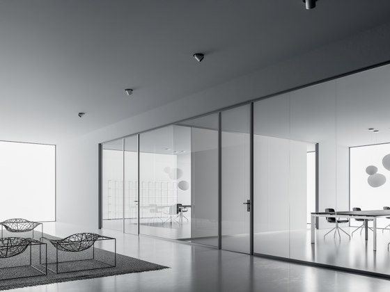 DV602-SINGLE-GLASS by DVO   Wall partition systems