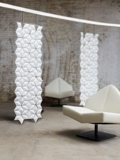 Facet Hanging Room Divider - 68x230cm by Bloomming | Folding screens