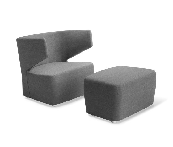 Club + Pouf by LD Seating | Armchairs