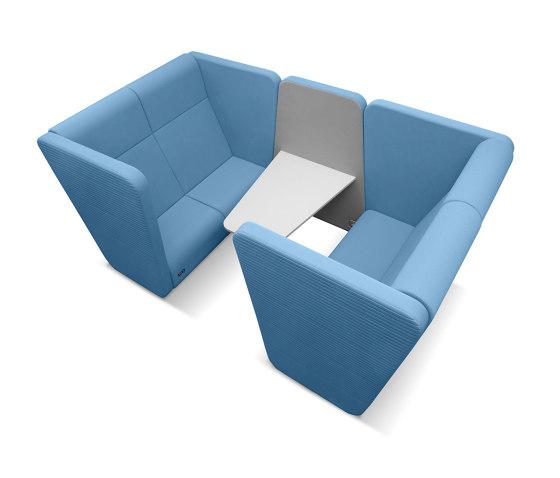 Meeting Port Box KM2/BR-01 von LD Seating | Sofas