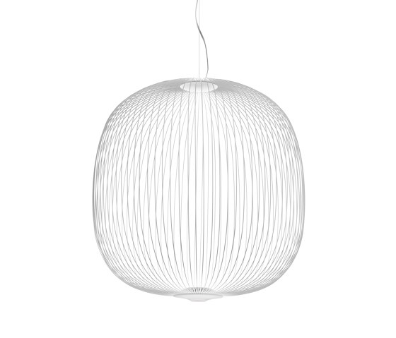 Spokes 2 Large suspension white by Foscarini | Suspended lights