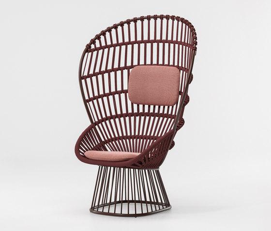 Cala armchair di KETTAL   Poltrone