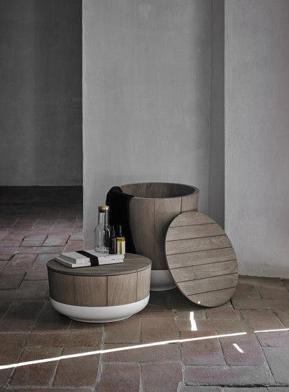 Origin Basket Stool de Inbani | Cestas de ropa
