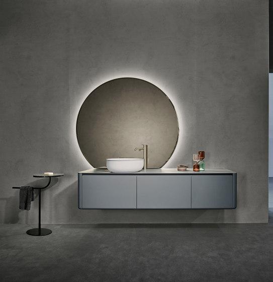 Origin Beveled Mirrors with LED Lighting by Inbani | Bath mirrors
