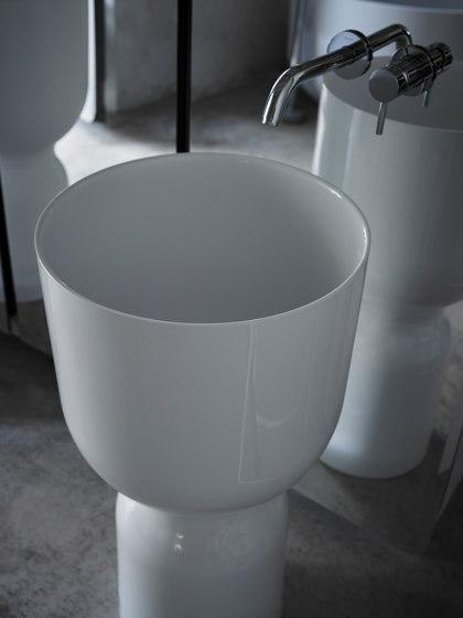 Origin Topsolid freestanding washbasin by Inbani | Wash basins