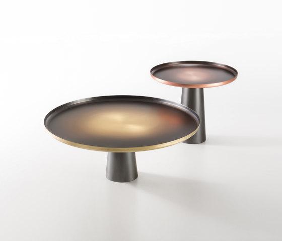 Sunrise & Sunset by De Castelli   Side tables
