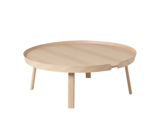 Around Coffee Table | Extra Large di Muuto | Tavolini bassi