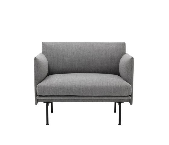Outline Chair di Muuto | Poltrone