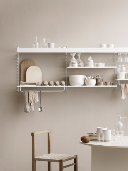 String System, Rod medium by string furniture | Shelving