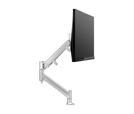 Interactive | Heavy Duty Single Display Desk Mount AWMS-HXB de Atdec | Accessoires de table