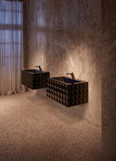 BetteLoft Ornament Wall mounted washbasin by Bette | Wash basins