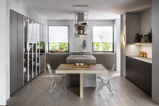 Hi-Line 6 by Dada   Fitted kitchens